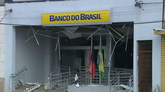 Agência bancária é explodida, em Remígio, na PB