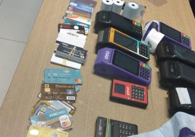 Polícia prende quadrilha que aplicava golpes em bancos de João Pessoa