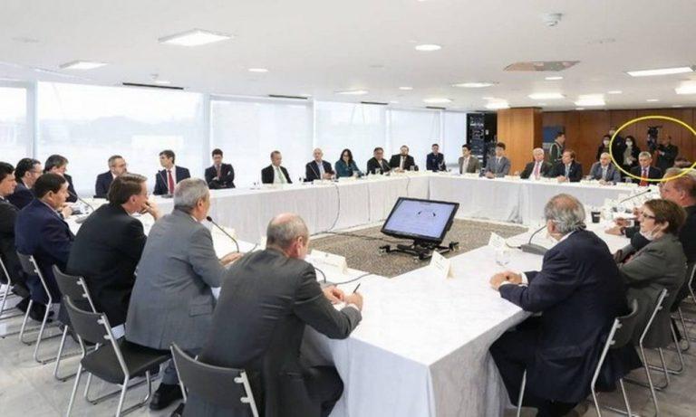 Em reunião ministerial do dia 22 de abril, Jair Bolsonaro