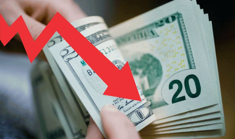 mercado externo faz dólar cair