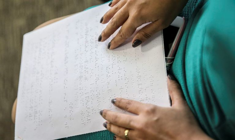 leitura em tela na prova do Enem