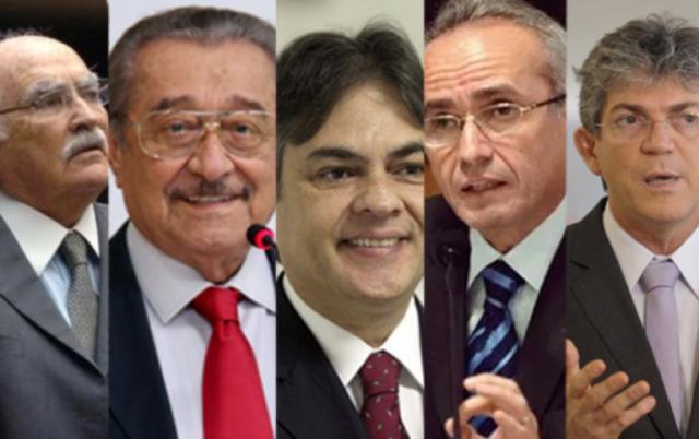 suspensão de pensões a ex-governadores na Paraíba