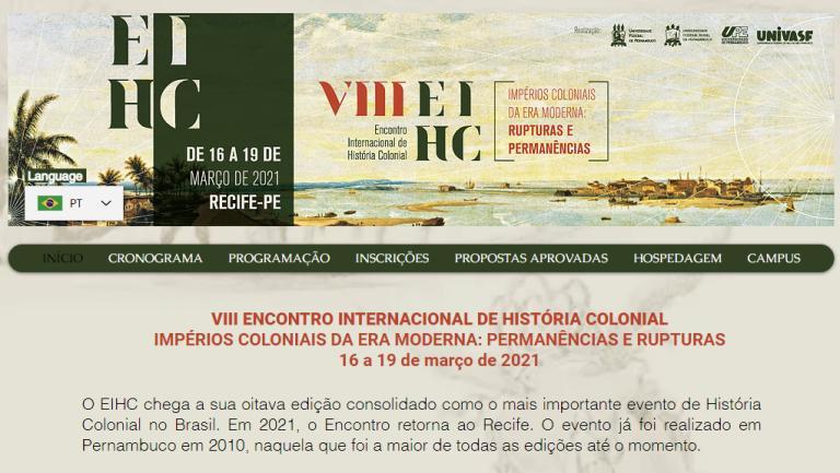 VIII Encontro Internacional de História Colonial