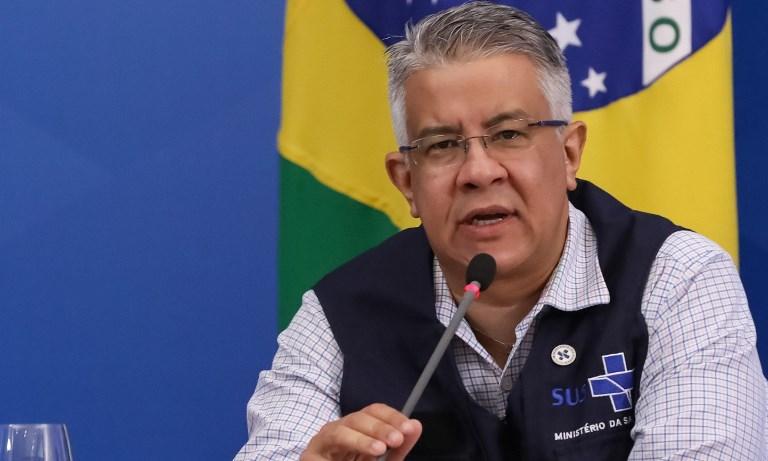 Wanderson de Oliveira deixa o Ministério da Saúde