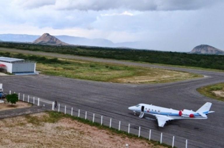 R$ 35,8 milhões: Ministério autoriza licitação para obras no aeroporto de Patos