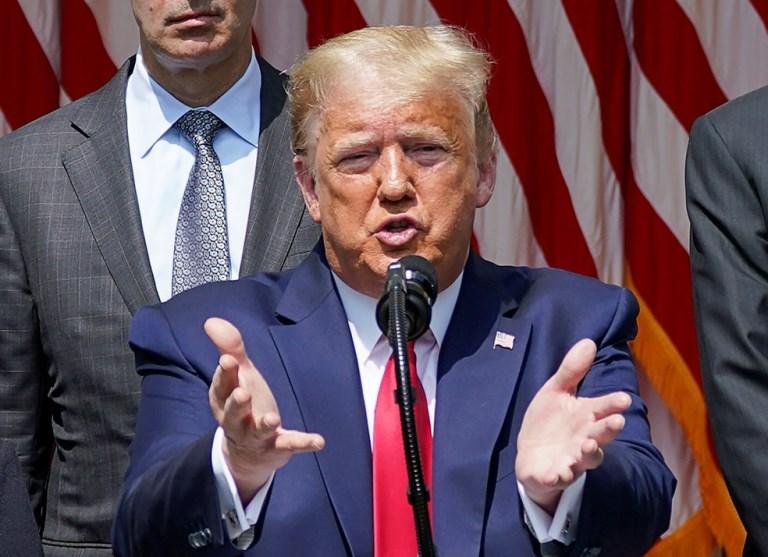 Trump diz que pelo menos 1 milhão foram salvos do coronavírus ao 'fechar os EUA'