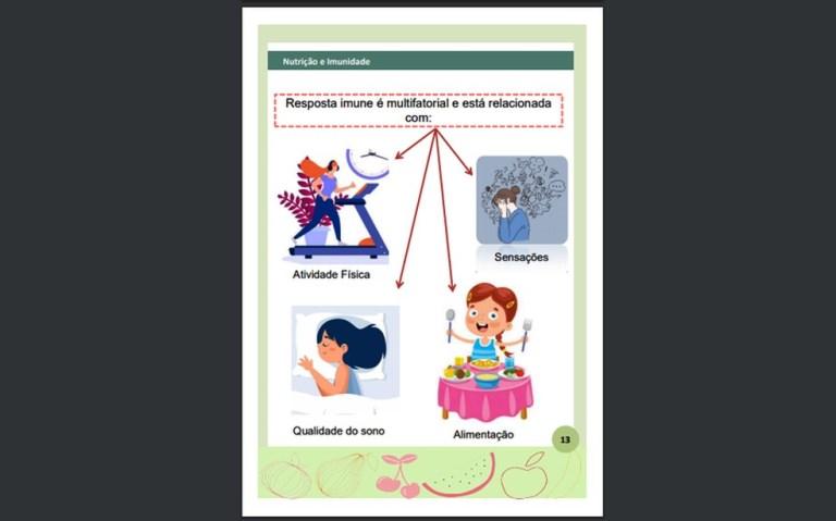 Pesquisadoras da UFPB lançam e-book com dicas e receitas para aumentar a imunidade