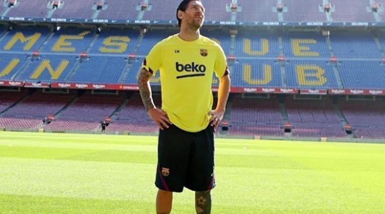 Pai de Messi se reúne com diretoria do Barcelona