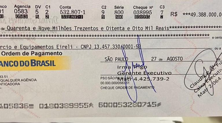 Três são presos ao tentar sacar R$ 49 milhões com cheque clonado em agência bancária de Fortaleza